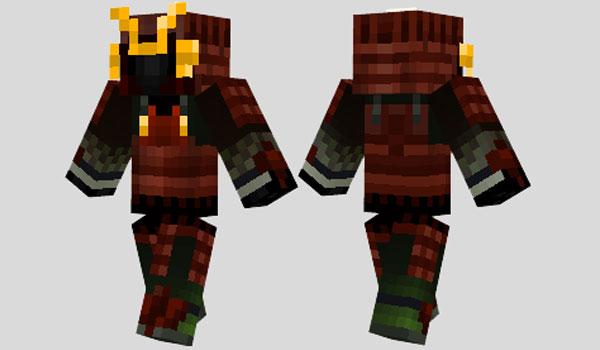 Samurai Skin para Minecraft