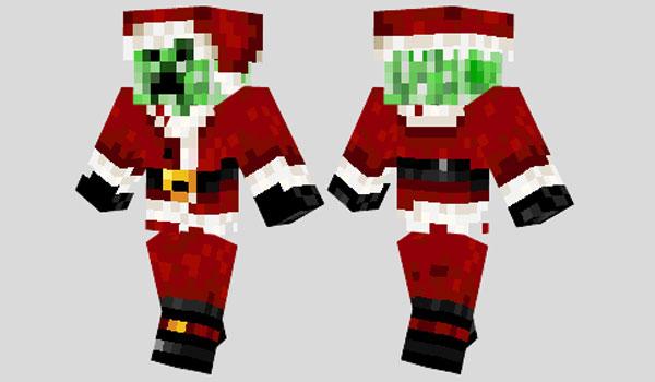 Santa Creeper Skin