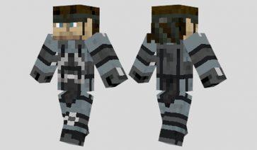 Solid Snake Skin para Minecraft