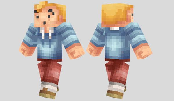 TinTin Skin para Minecraft
