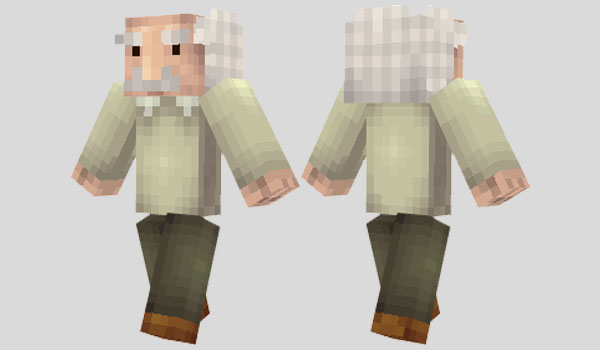 Albert Einstein Skin para Minecraft
