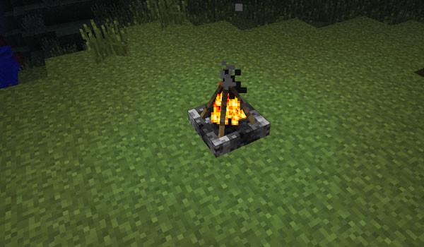 Campfire Mod para Minecraft 1.4.6 y 1.4.7