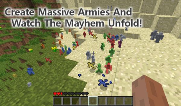 Clay Soldiers Mod para Minecraft 1.4.6 y 1.4.7
