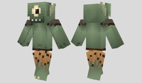 Ogre Skin para Minecraft
