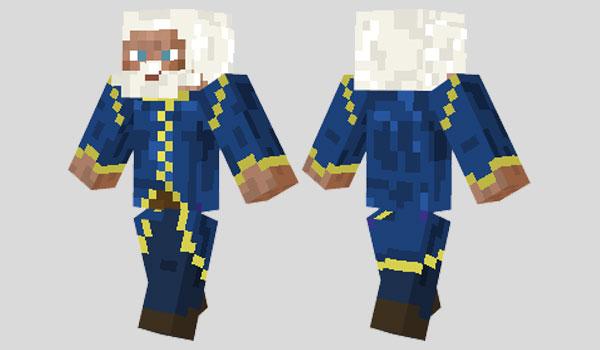 Wizard Skin para Minecraft