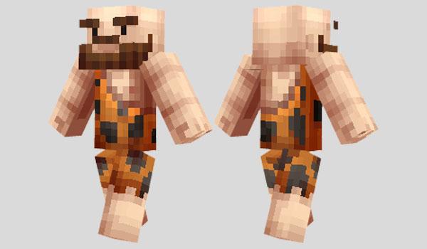 Caveman Skin para Minecraft