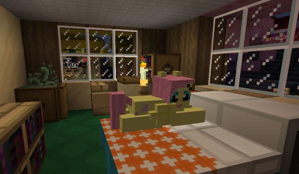 imagen de uno de los ponys que agrega el Mine Little Pony 1.4.6.