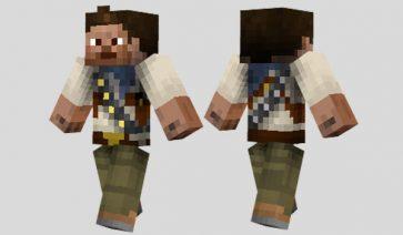 Nathan Drake Skin para Minecraft