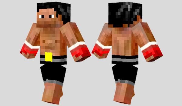 Rocky Skin para Minecraft
