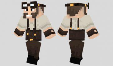Steampunk Engineer Skin para Minecraft