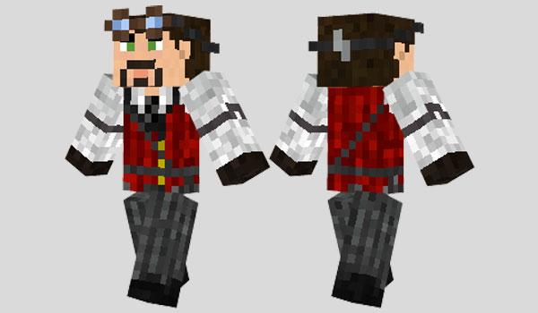Steampunk Suit Skin para Minecraft