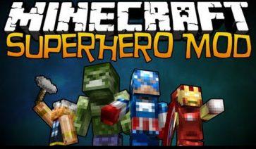 Super Heroes Mod para Minecraft 1.4.6 y 1.4.7