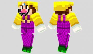 Wario Skin para Minecraft