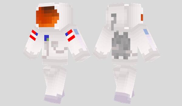 Astronaut Skin para Minecraft