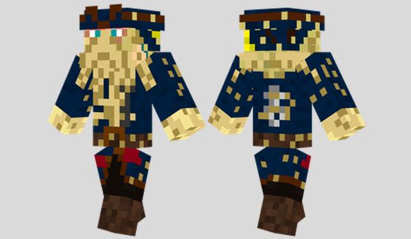 Davy Jones Skin