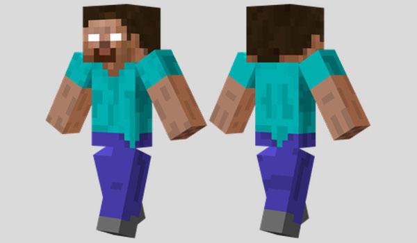 Herobrine Skin para Minecraft