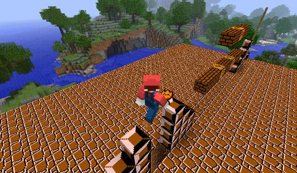 Super Mario Mod para Minecraft 1.4.6 y 1.4.7