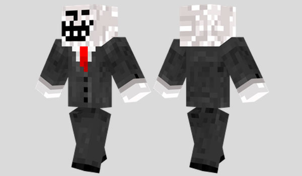 Troll Face Skin para Minecraft