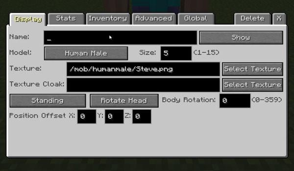 Custom NPCs Mod para Minecraft 1.5.1 y 1.5.2