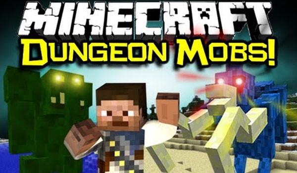 Dungeon Mobs Mod para Minecraft 1.5.1 y 1.5.2