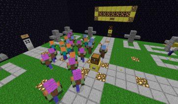 Graveyard Defense 2 Map para Minecraft 1.5