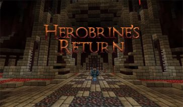 Herobrine's Return Map para Minecraft 1.6.2