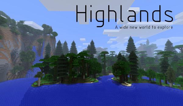 Highlands Mod para Minecraft 1.5.1 y 1.5.2