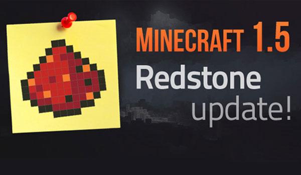 Minecraft 1.5 – Actualización de la Redstone