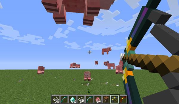 More Bows Mod para Minecraft 1.5.1 y 1.5.2