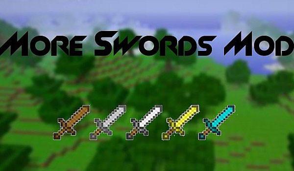 More Swords Mod para Minecraft 1.5.1 y 1.5.2