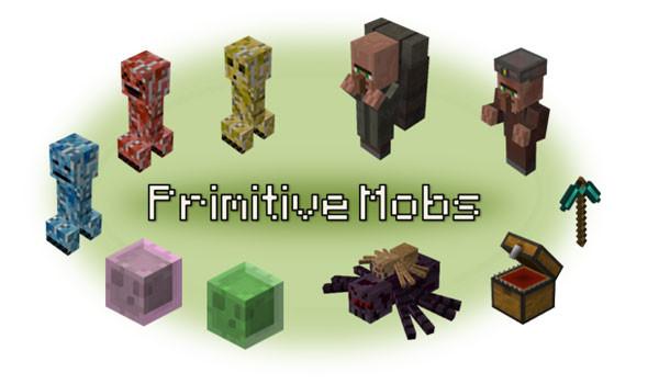Primitive Mobs Mod para Minecraft 1.5.1 y 1.5.2