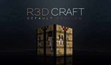 R3D Craft Texture Pack para Minecraft 1.9 y 1.8