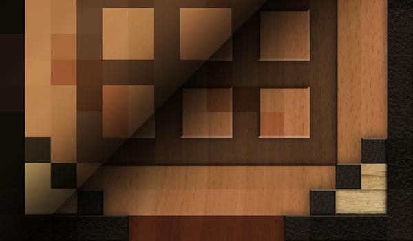imagen de comparación, entre las texturas básicas de Minecraft y R3D Craft Texture Pack.