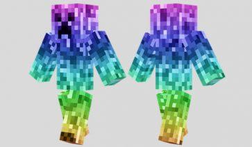Rainbow Creeper Skin