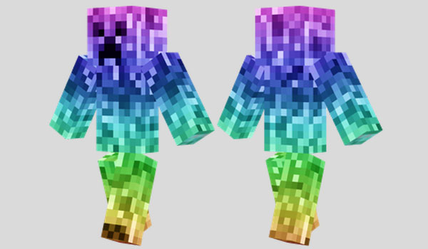 Rainbow Creeper Skin