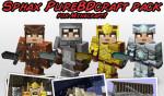 Sphax PureBDCraft Texture Pack para Minecraft 1.10 y 1.9