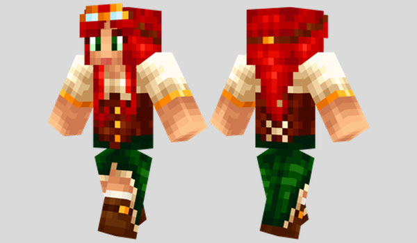 Steampunk Girl Skin