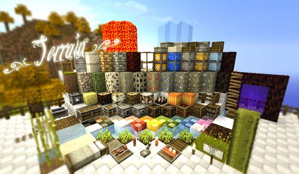 SummerFields Texture Pack para Minecraft 1.7.2 y 1.7.10