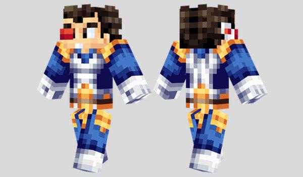 Vegeta Skin Para Minecraft MineCrafteo - Skins para minecraft descargar gratis
