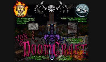 vonDoomCraft Texture Pack para Minecraft 1.6.2