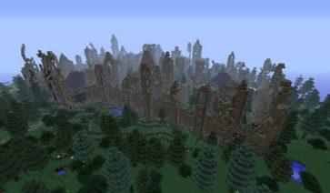 City, Wall and Ruin Generators Mod para Minecraft 1.5.1