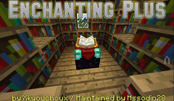 Enchanting Plus Mod para Minecraft 1.5.1 y 1.5.2