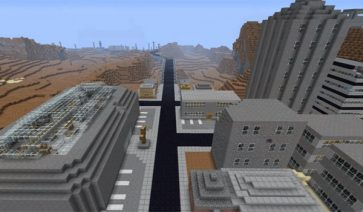 Fallout Minecraft: Dead State Map para Minecraft 1.6.2