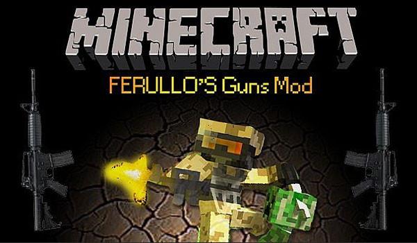 Ferullo's Guns Mod para Minecraft 1.5.1 y 1.5.2