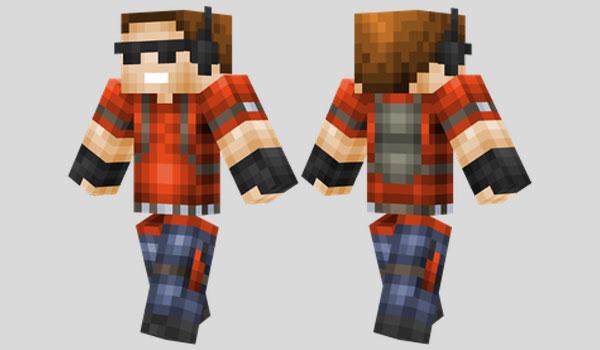 Griefer Skin para Minecraft