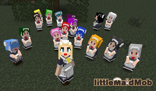 LittleMaidMob Mod para Minecraft 1.5.1 y 1.5.2
