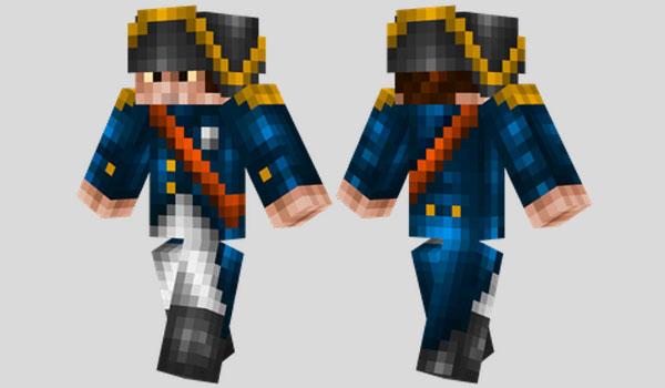 Napoleon Skin para Minecraft