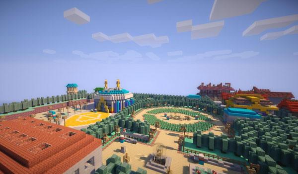 Pokemon Johto in Minecraft Map para Minecraft 1.7.2