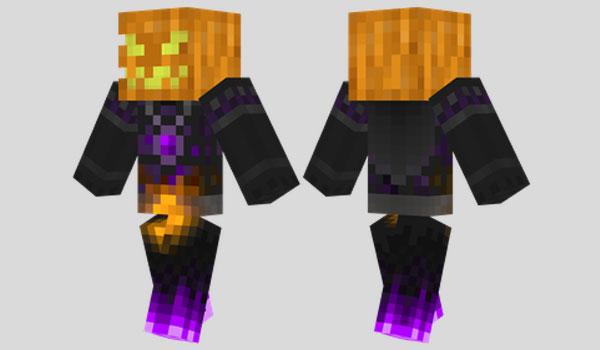 Pumpkin King Skin para Minecraft