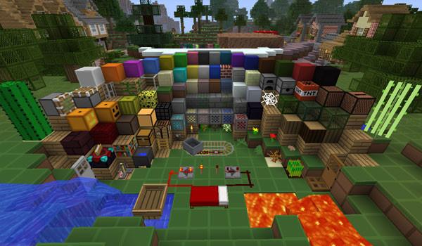 SimpleCraft Texture Pack para Minecraft 1.8